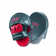 Amazon.com : UFC® Punch Mitt Red/gray : Martial Arts Hand Targets And Focus Mitts : Sports & Outdoors