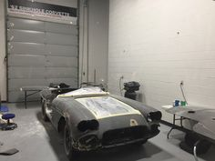 """1962 Corvette restoration 