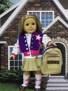 American Girl Doll Clothes Sleeveless by JenAshleyDollDesigns
