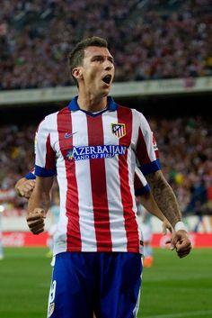 Mario Mandzukic - Atletico Madrid v SD Eibar 30th August 2014 #LaLiga