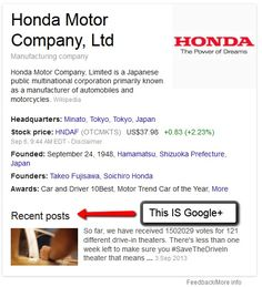 How Your G+ Business Page Makes A Big Difference In Search Results #socialmedia