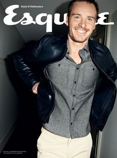 Michael Fassbender by Alice Hawkins for Esquire UK | June 2012