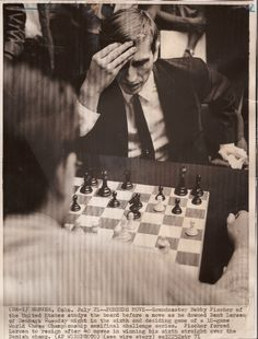chess is war over the board. the object is to crush the opponent's mind ― bobby fischer during his clean sweep (6-0!) against larsen | 1971