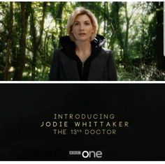 Congrats to Jodie Whittaker as the 13th Doctor!!!