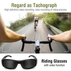 1080P HD Mini Night Vision Eyewear DVR Video Recorder Sunglasses Camera Glasses   Wish Wifi Spy Camera, Security Camera, Mac Os 10, Blacked Videos, Glasses Case, Camcorder