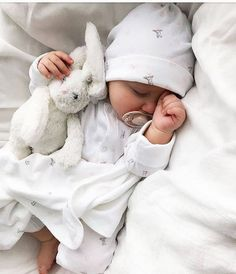 Super SOFT Lovely Large Long Earrs Rabbit Bunny Soft Plush Sleep Baby Toy Sleeping Pillow - sleeping doll toy, sleeping dolls for babies, sleeping doll pic,sleeping doll for babies, sleeping - Cute Little Baby, Baby Kind, Cute Baby Girl, Cute Babies, Baby Baby, Baby Sleep, Baby Girls, Funny Babies, Toddler Girls
