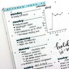 "focusign: ""Photos of my bullet journal spreads :) Taken from my studygram"