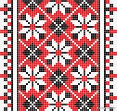 Creative Mosaic, Pattern, Pixel, and Vector image ideas & inspiration on Designspiration Weaving Patterns, Tile Patterns, Embroidery Patterns, Pixel Pattern, Vector Pattern, Cross Stitch Designs, Cross Stitch Patterns, Pixel Image, Ukrainian Art