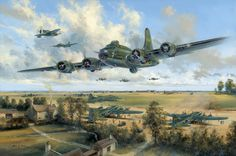 Consolidated b 32 dominator by stan stokes airplanes pinterest farewell memphis belle by simon atack i am the owner of the original painting fandeluxe Gallery