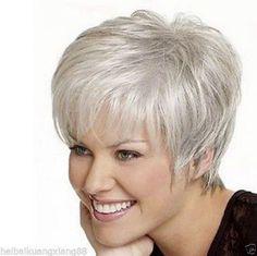 short grey hair - Google Search