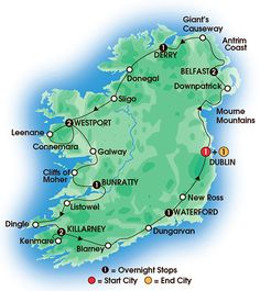 Irish Classic 12 Day Tour