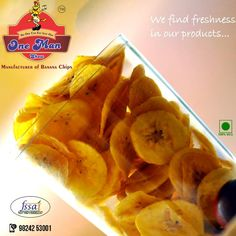 Let this crunchy and delicious banana chips tantalise your taste buds.  Website: http://onemanshow.co.in/ #chips #bananachips #Hungry #Bestchips #Tastychips #appetizer #snack #party #munching #bestfood #tastyfood #teatimesnack