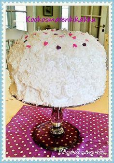 Kookosmarenkikakku Coconut cake