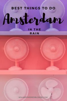 Fun things to do in Amsterdam in the rain! European Travel Tips, Europe Travel Guide, European Vacation, Travel Guides, Travel Abroad, Europe Destinations, Holiday Destinations, Backpacking Europe, Amsterdam Travel