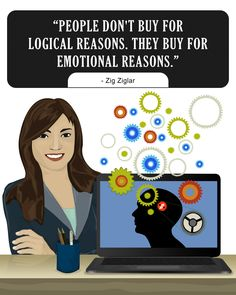 People don't buy for logical reasons
