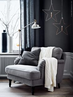 grey winter mood (via Livet Hemma – IKEA) | my ideal home... | Bloglovin