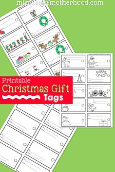 Share this:     Free Printable Christmas Gift Tags – Color Your Own Gift Tags Every year we color code the presents under the tree so we don't have to look for a name tag. I will wrap each child's present in their own special wrapping paper. It's been the tradition around here since the first Christmas we …
