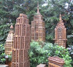The New York Botanical Gardens Holiday Train Show (by the Bronx Zoo) at Christmas. Description from pinterest.com. I searched for this on bing.com/images