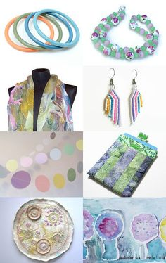 ~ Simply Pastels ~ by Laurie and Joe Dietrich on Etsy--Pinned with TreasuryPin.com