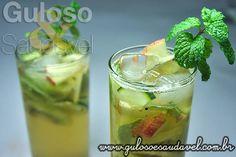 Coquetel de Frutas com Pepino » Bebidas, Receitas Saudáveis » Guloso e Saudável