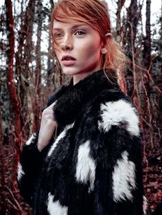 visual optimism; fashion editorials, shows, campaigns & more!: into the woods: dani witt by nicole heiniger for harper's bazaar brazil april 2015