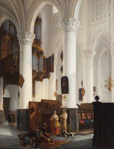 1846 | Interieur van de H. Pauluskerk te Antwerpen (Inside the ...