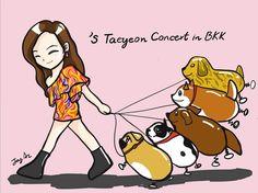 Snsd, Girls Generation, Chibi, Real Life, Family Guy, Fan Art, Kpop, Concert, Memes
