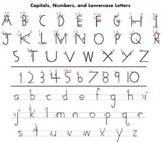 Handwriting-Handwriting w/o Tears | Handwriting, Handwriting ...