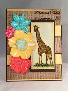Secret Garden stamp set and framelits, Zoo review stamp set.