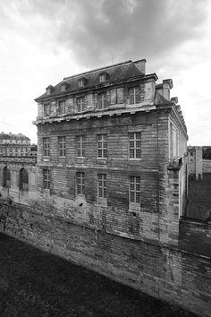 Chateau de Vincennes  Looking South towards King's Residence  Paris, France