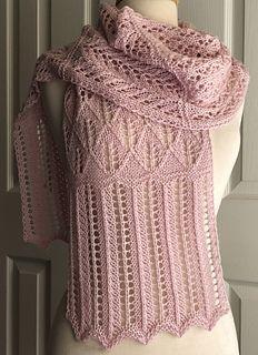 Ravelry: Lace Sampler Scarf pattern by Sandi Rosner Lace Knitting Patterns, Shawl Patterns, Lace Patterns, Knitting Ideas, Knit Cowl, Knitted Shawls, Knit Crochet, Tsumtsum, Lace Scarf