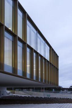 Kulturzentrum bei Paris von O-S architectes / Goldkiste - Architektur und Architekten - News / Meldungen / Nachrichten - BauNetz.de