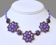 Free pattern for pretty beaded flower | Beads Magic