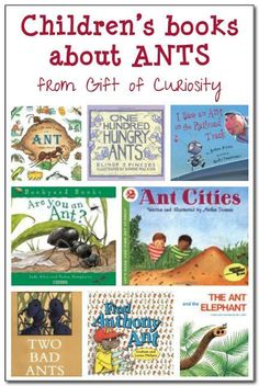Books about #ants for kids    Gift of Curiosity