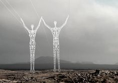 The Giants of Iceland #art #sculpture