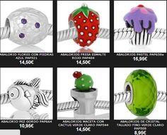 Gran variedad de avalorios para tus pulseras.