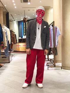 Mask : TAKAHIROMIYASHITA the SOLOIST Jacket : The