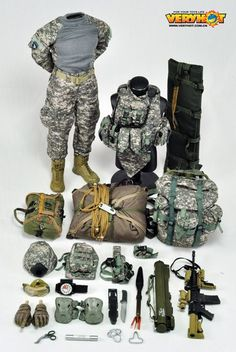 onesixthscalepictures: Very Hot 101st Airborne Division : Latest product news for 1/6 scale figures (12 inch collectibles) from Sideshows Co...