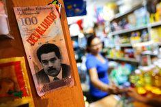 Amid a Slump, a Crackdown for Venezuela - NYTimes.com