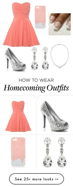That is the cutest homecoming outfit I've ever seen! So pretty #polyvore