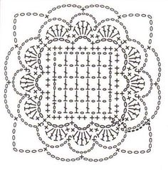 #Crochet graphs and squares