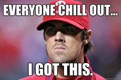 Cole Hamels - everyone chill out i got this