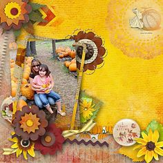Autumn as I see it paper pack by Giny Scrap
