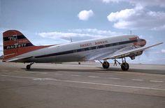 Ansett Douglas DC-3 VH-BZK in Ansett Airways livery