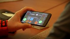 """Researchers at the University of Virginia will head a $12.7 million project studying so-called """"artificial pancreas"""" technology, in this case a smartphone application that wirelessly reads a sensor measuring a person's glucose level and that tells an insulin pump to deliver the correct dose of insulin."""