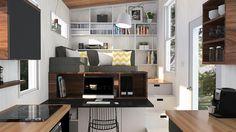 Tiny House Quebec, Atelier Praxis, micro-habitation