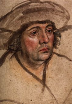 Lucas Cranach the Elder: Portrait of a Clean Shaven Man (British Museum)