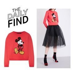 """The Daily Find: Marc Jacobs Sweatshirt"" by polyvore-editorial ❤ liked on Polyvore featuring Marc Jacobs and DailyFind"