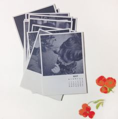 Mothers Day Photo Calendar Printable from The Paper Curator