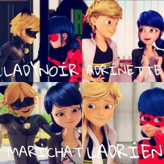 Image result for miraculous ladybug love square